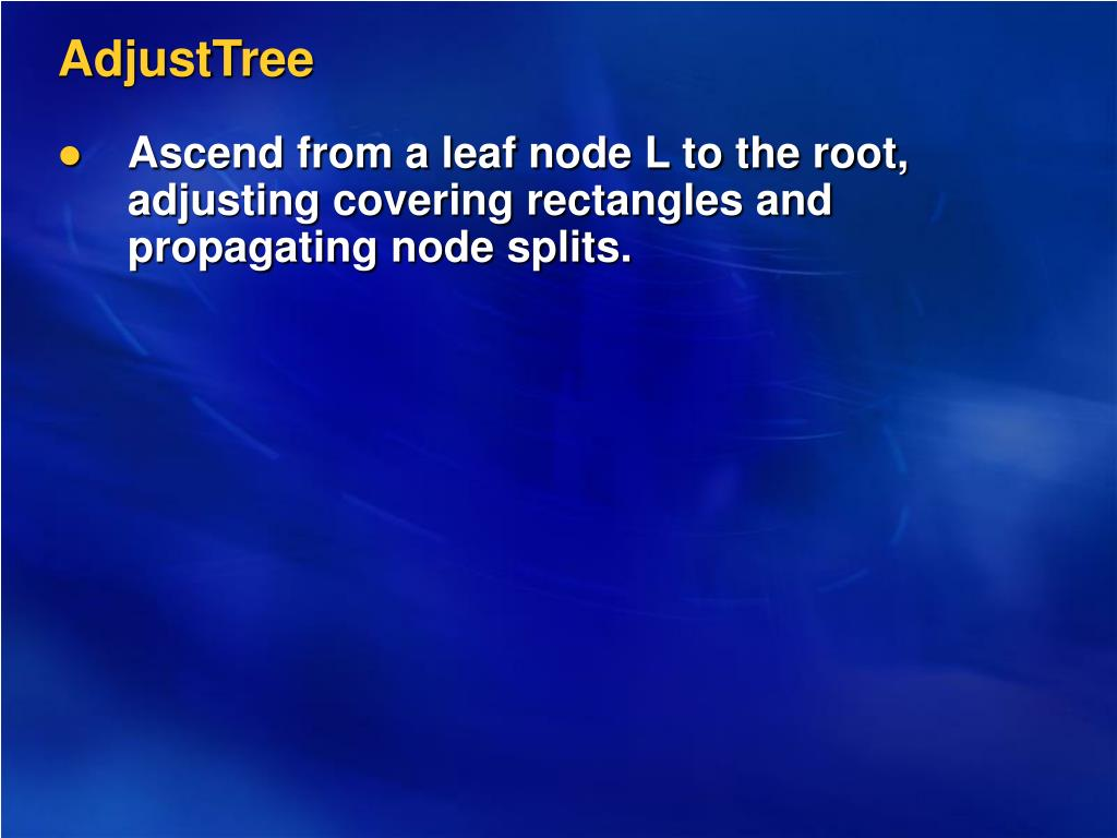 AdjustTree