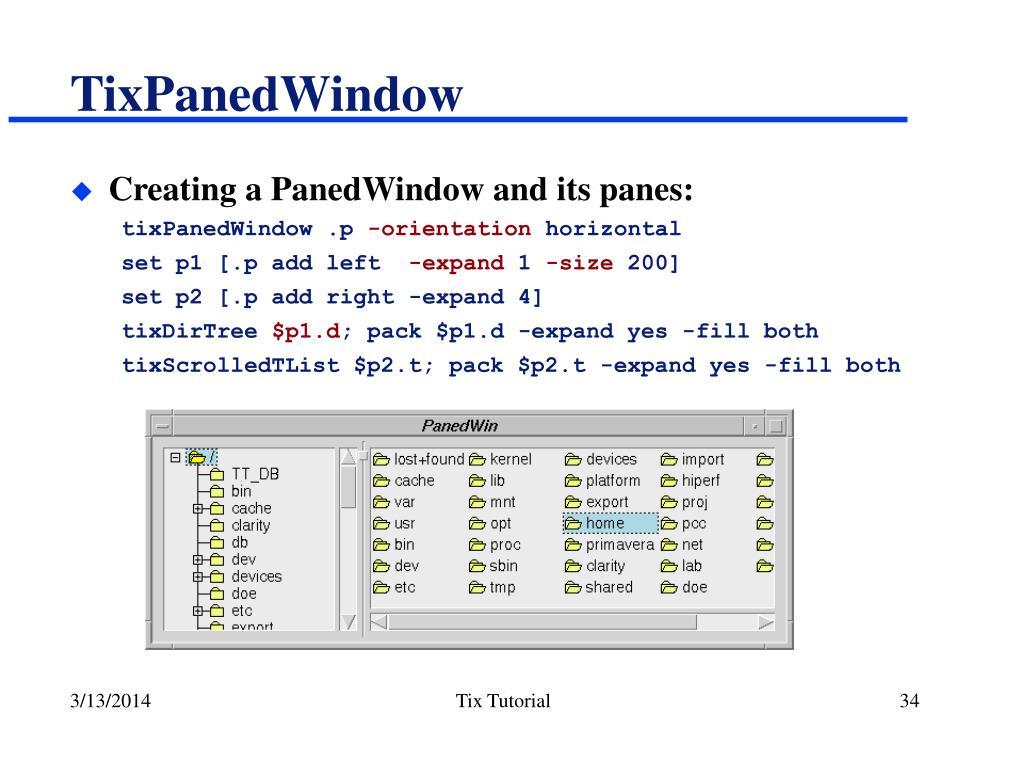 TixPanedWindow