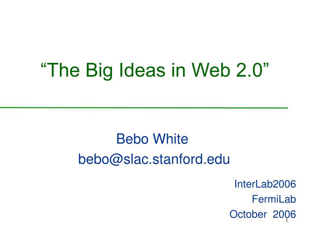 Bebo White