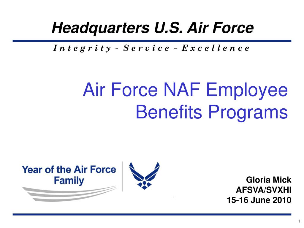 naf employee handbook air force