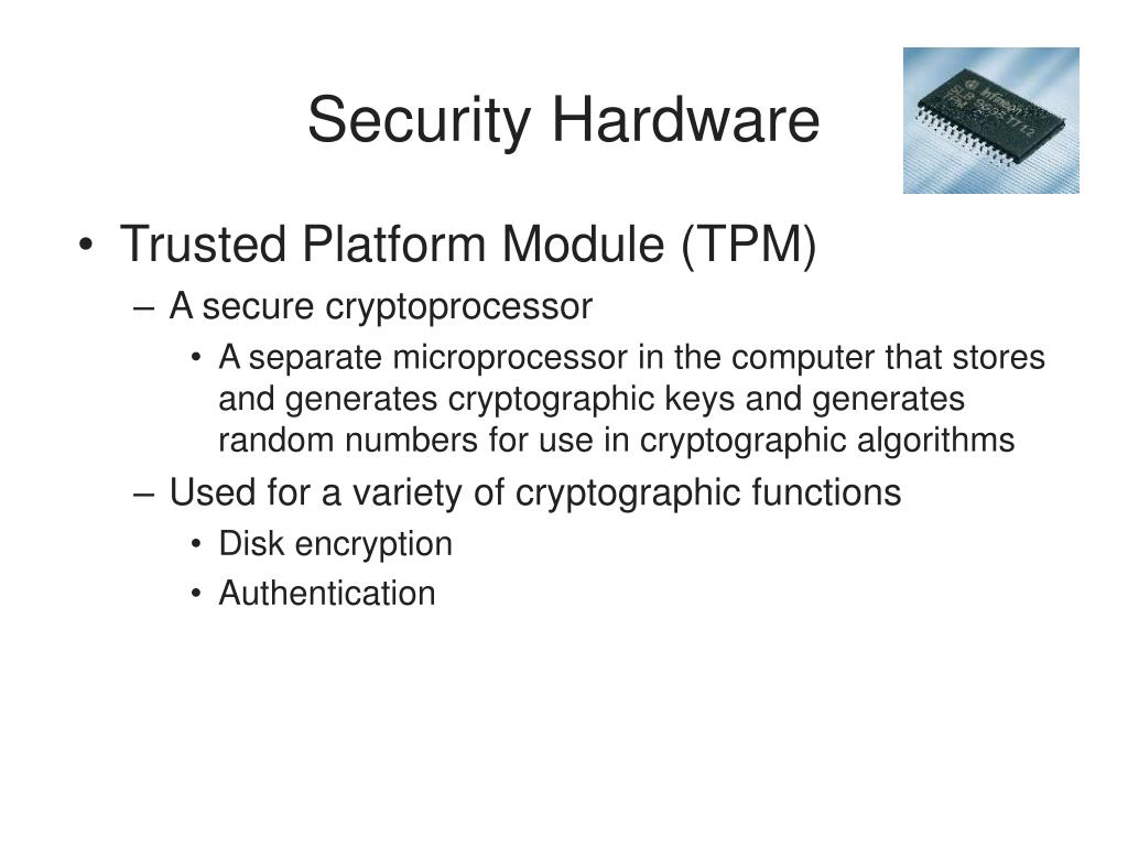 Security Hardware