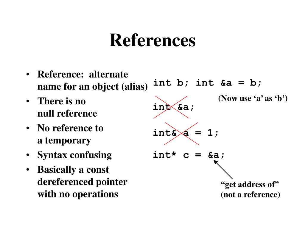 Reference:  alternate