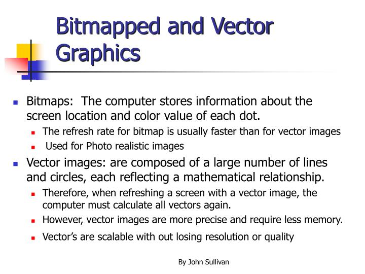 Bitmapped and vector graphics l.jpg