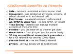 ezpzemail benefits to parents
