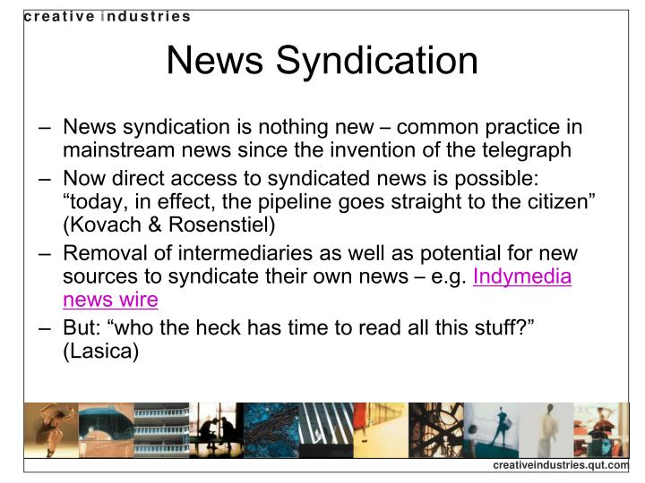 News syndication