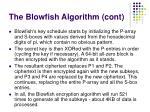 the blowfish a lgorith m cont