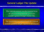 general ledger file update30