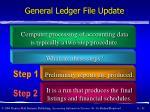 general ledger file update31