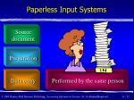 paperless input systems12
