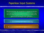 paperless input systems16