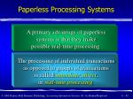 paperless processing systems42