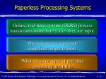 paperless processing systems43