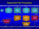 sequential file processing23