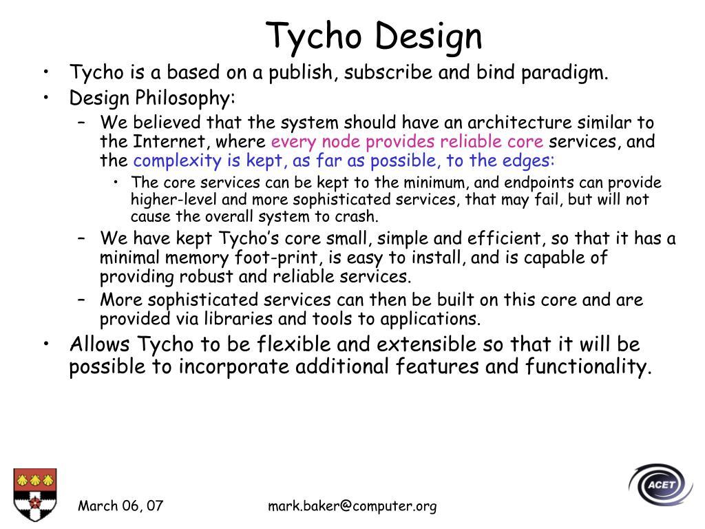 Tycho Design