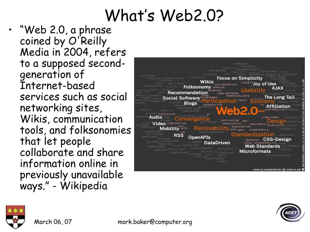 What's Web2.0?