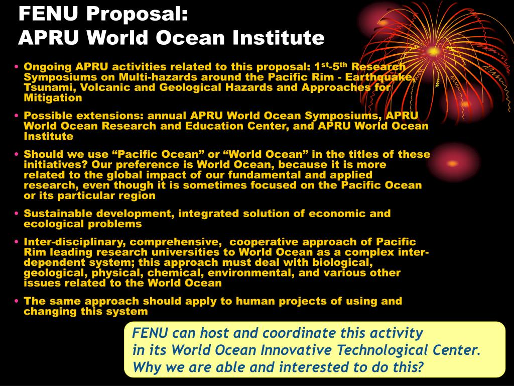 FENU Proposal: