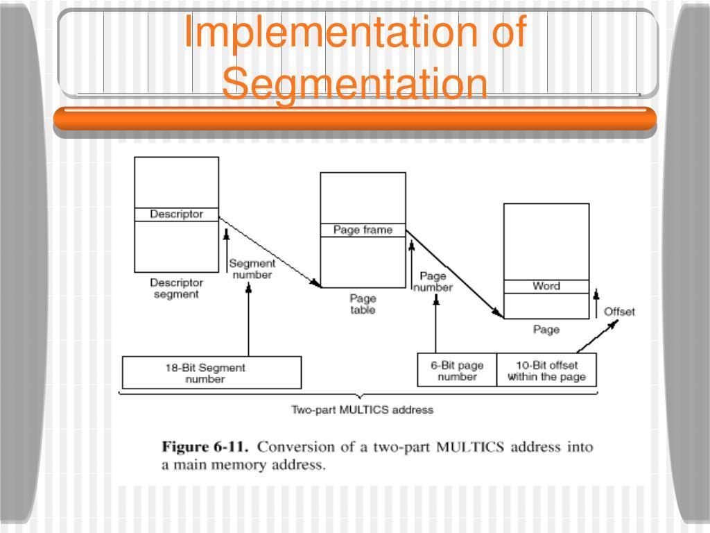 Implementation of Segmentation