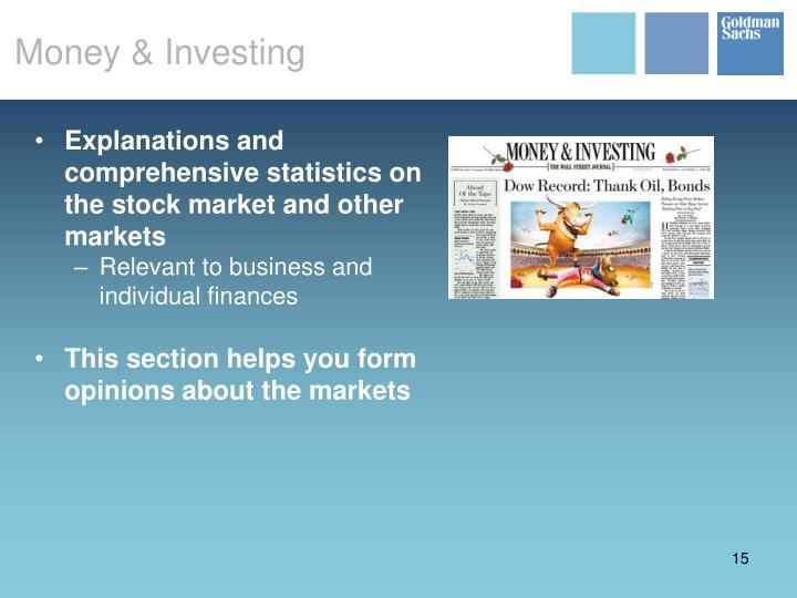 Money & Investing