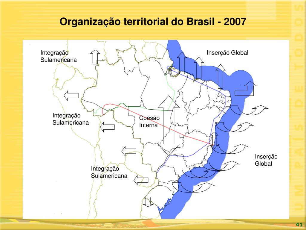Organização territorial do Brasil - 2007