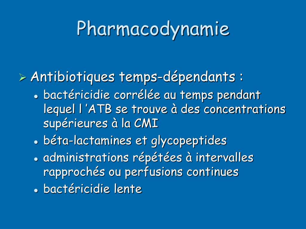 Pharmacodynamie