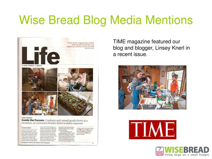 Wise Bread Blog Media Mentions