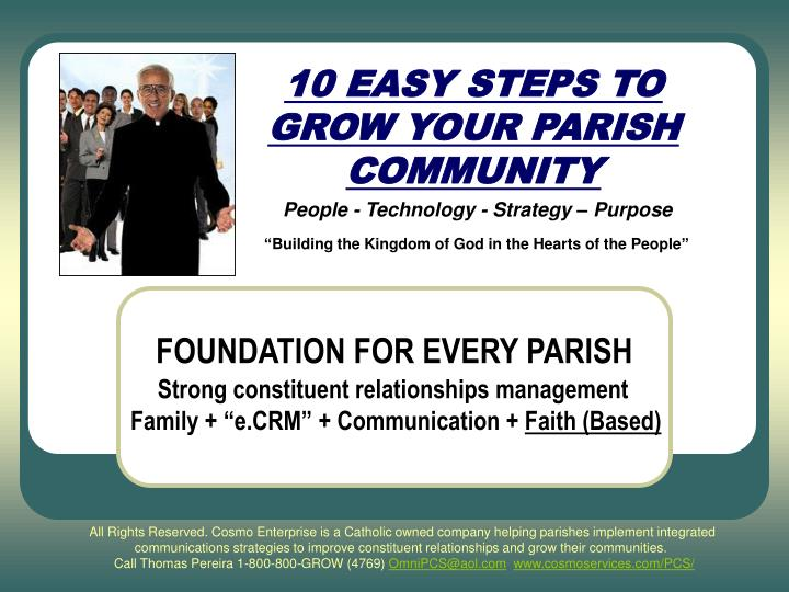 10 easy steps to grow your parish community l.jpg