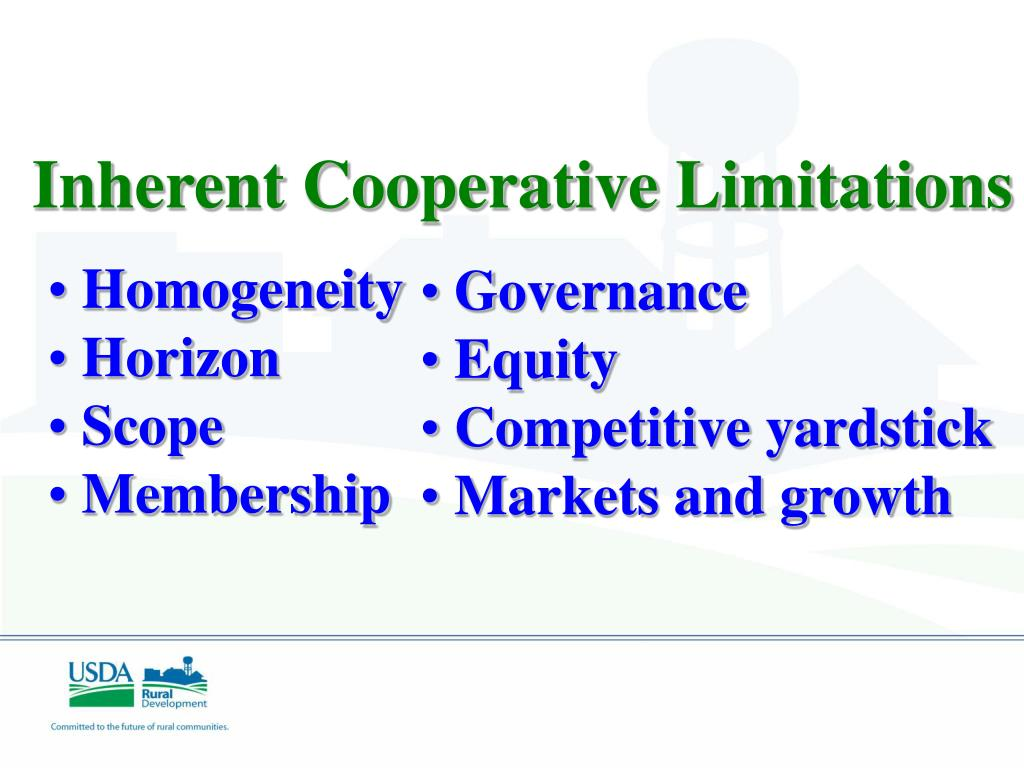 Inherent Cooperative Limitations