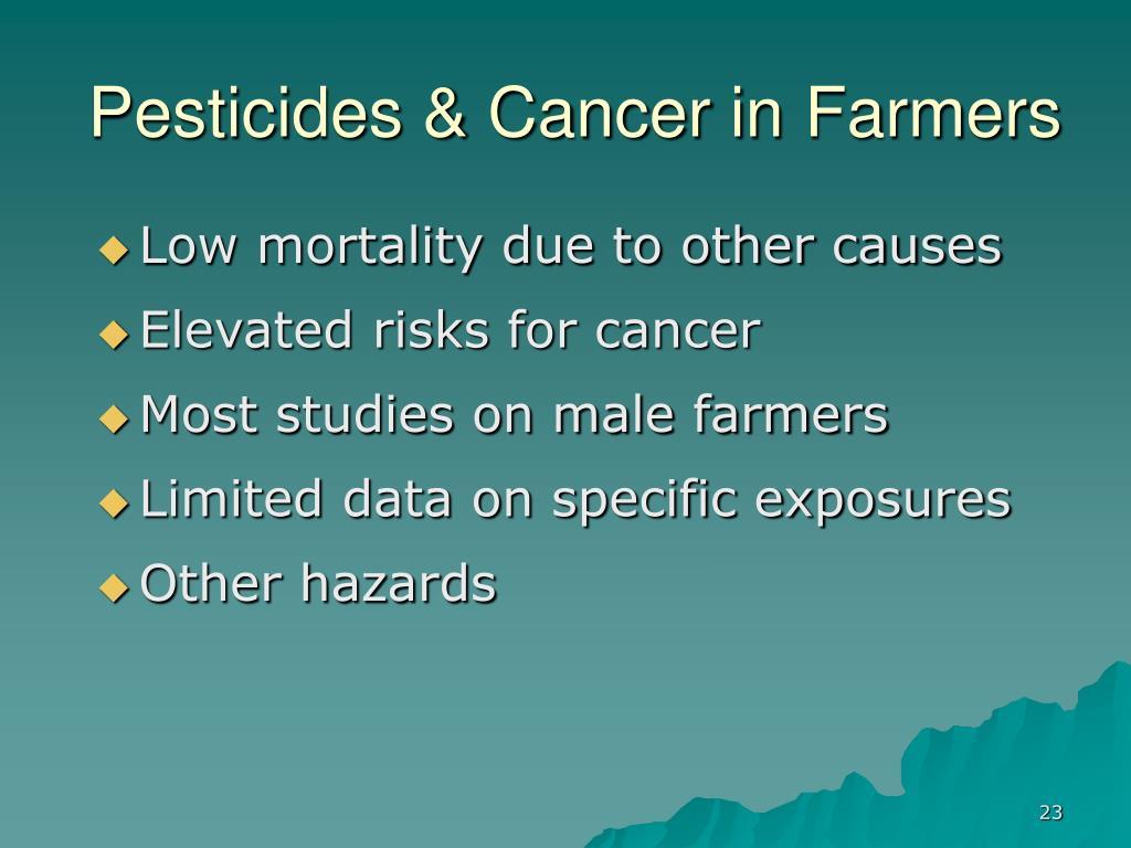 Does This Common Pesticide Cause Cancer  webmdcom