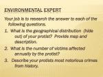 environmental expert