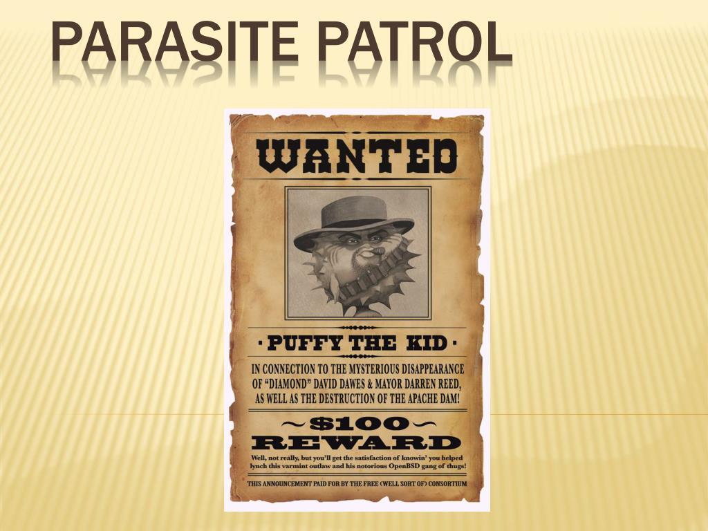 Parasite Patrol
