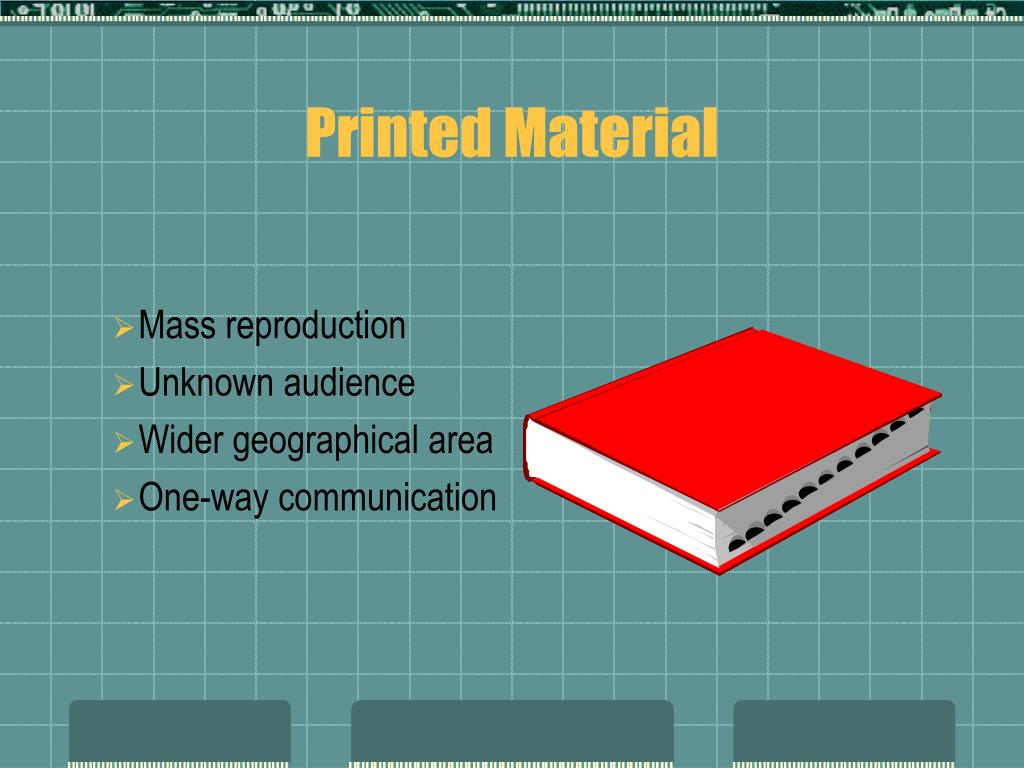 Printed Material