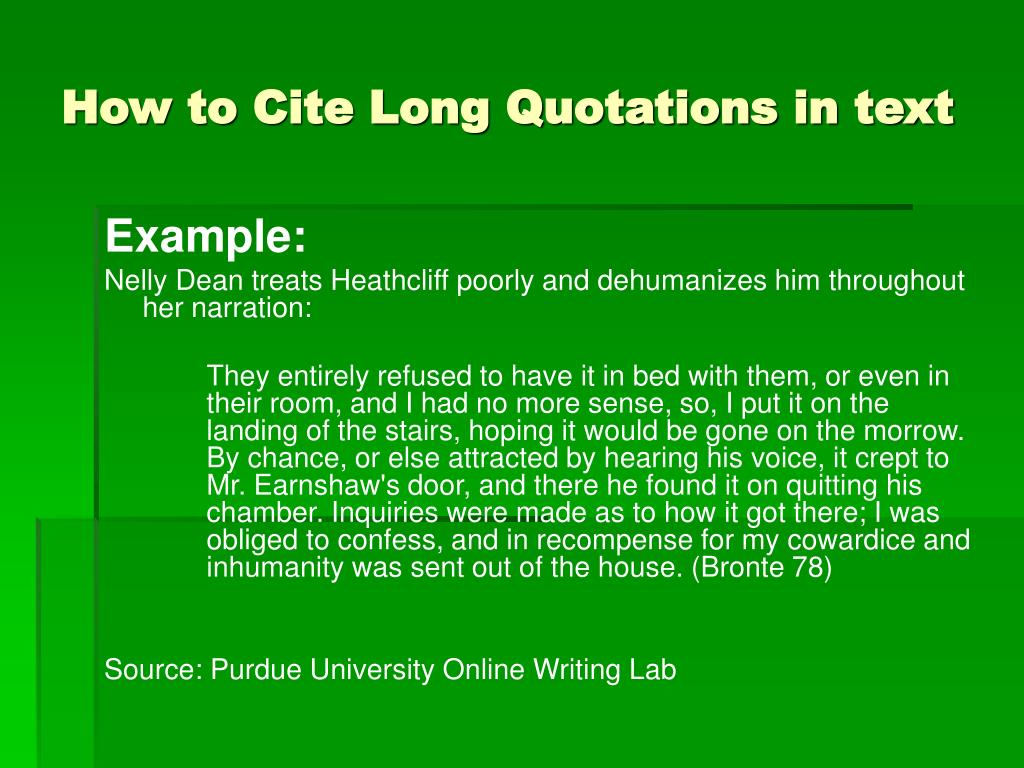 how to cite a powerpoint mla