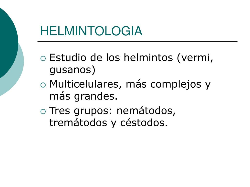 HELMINTOLOGIA