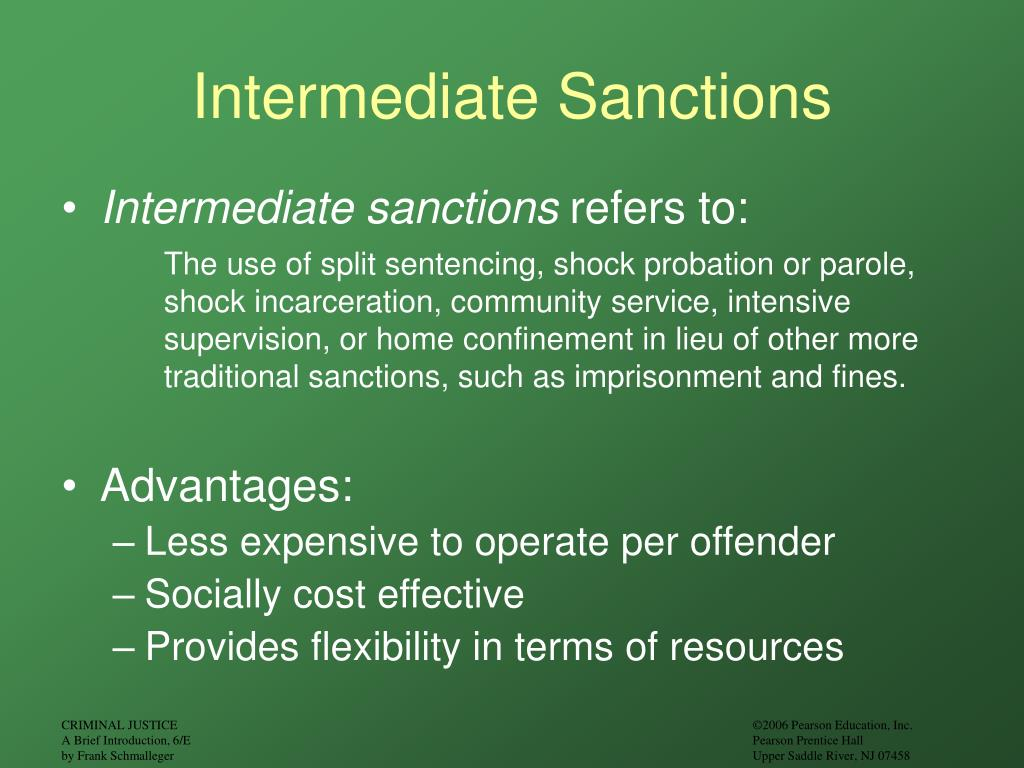 the advantages of using shock incarceration Alternative incarceration (sai) focuses on shock the advantages of probation and incarceration prison population rates could be lowered by using incarceration.