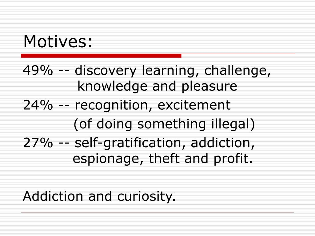 Motives: