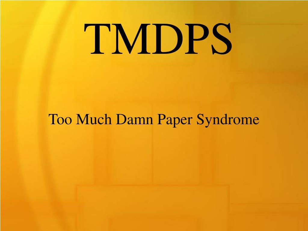 TMDPS