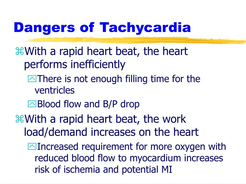 Dangers of Tachycardia