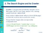 2 the search engine and its crawler