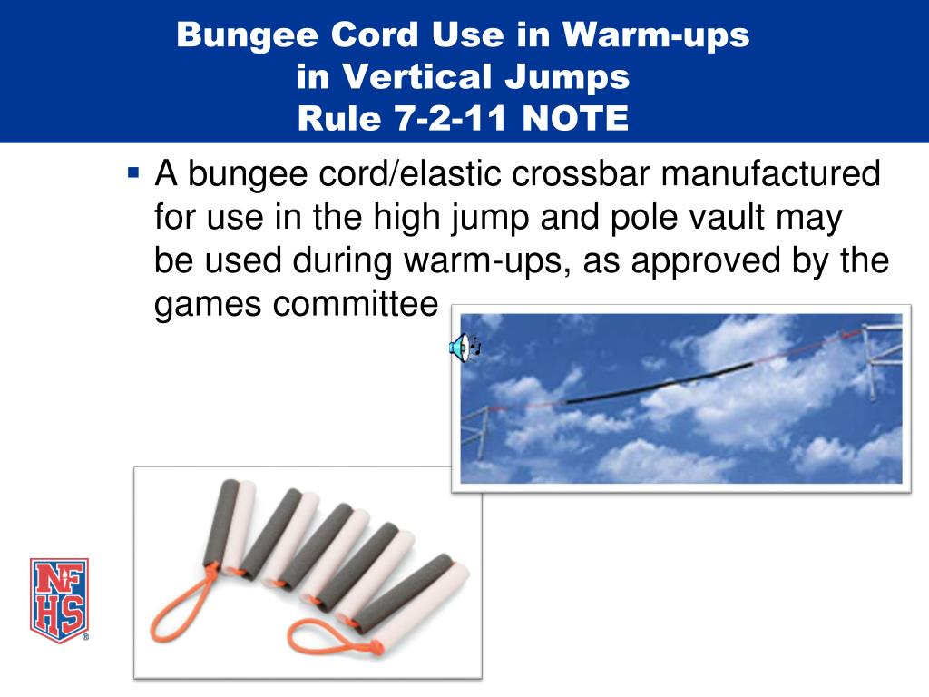 Bungee Cord Use in Warm-ups