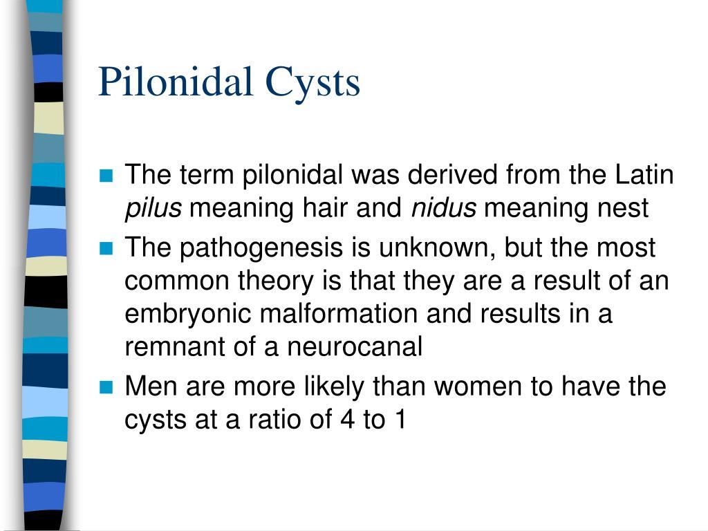Pilonidal Cysts