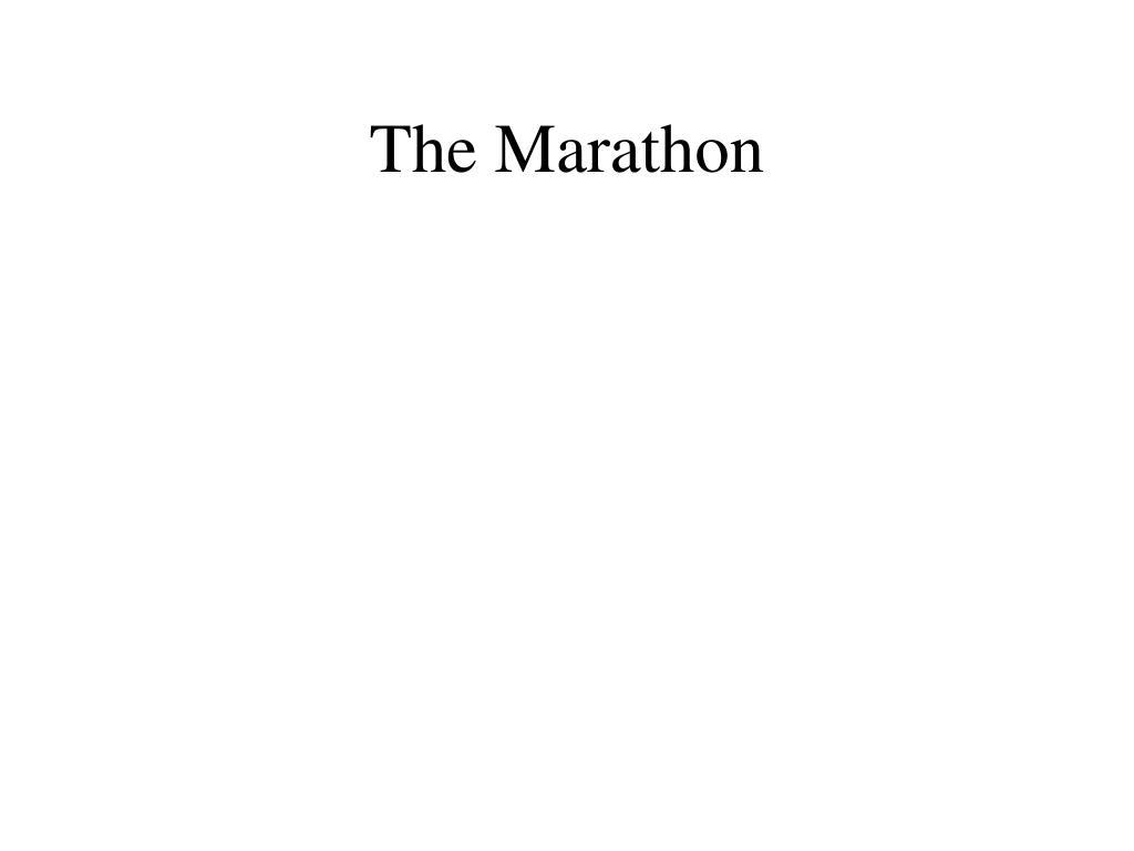 The Marathon