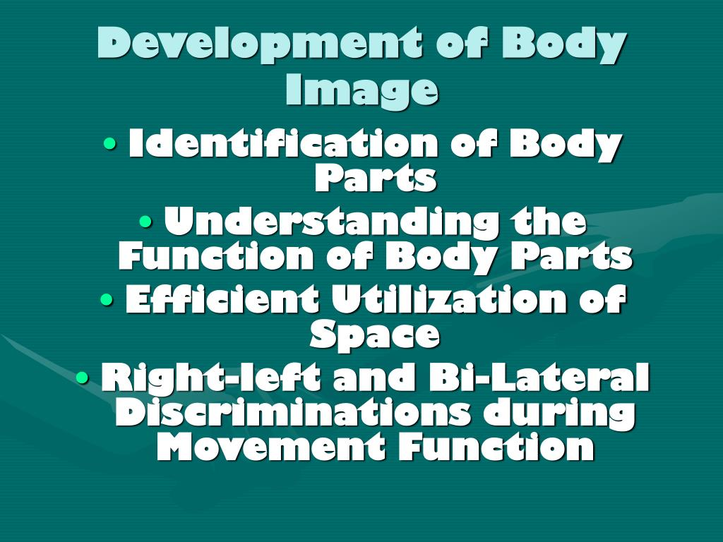 Development of Body Image