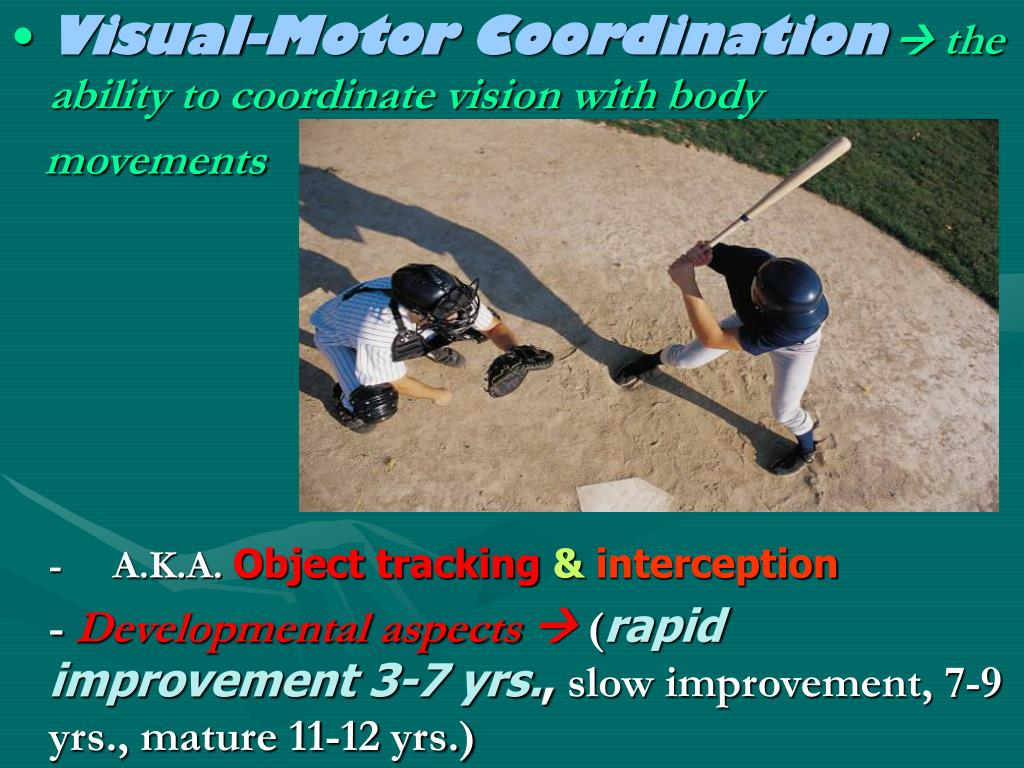 Visual-Motor Coordination