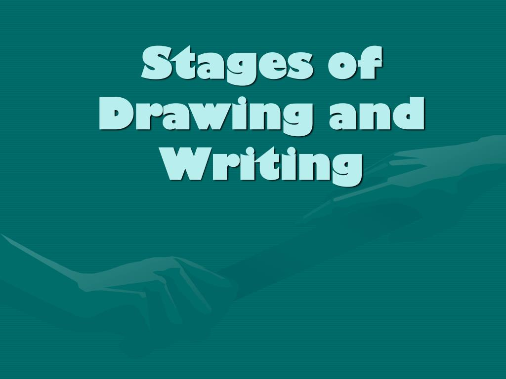 Stages of Drawing and Writing