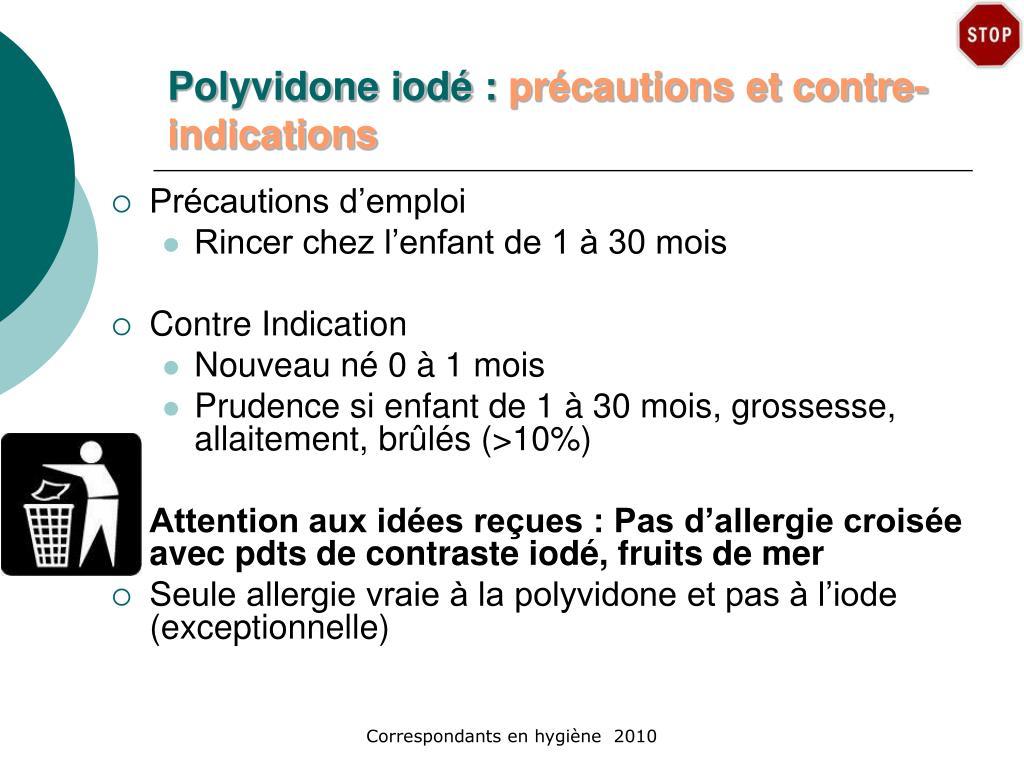 Polyvidone iodé :