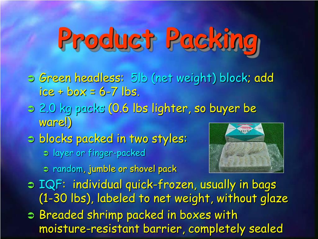 Product Packing