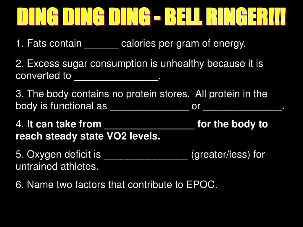 DING DING DING - BELL RINGER!!!