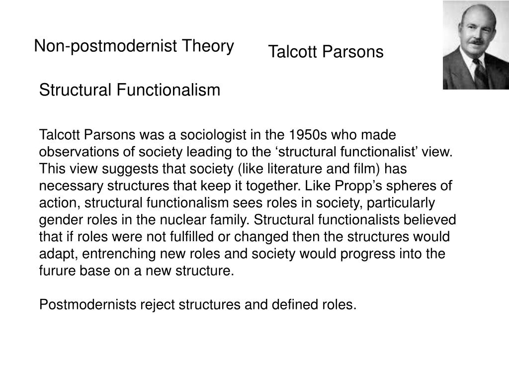 Non-postmodernist Theory