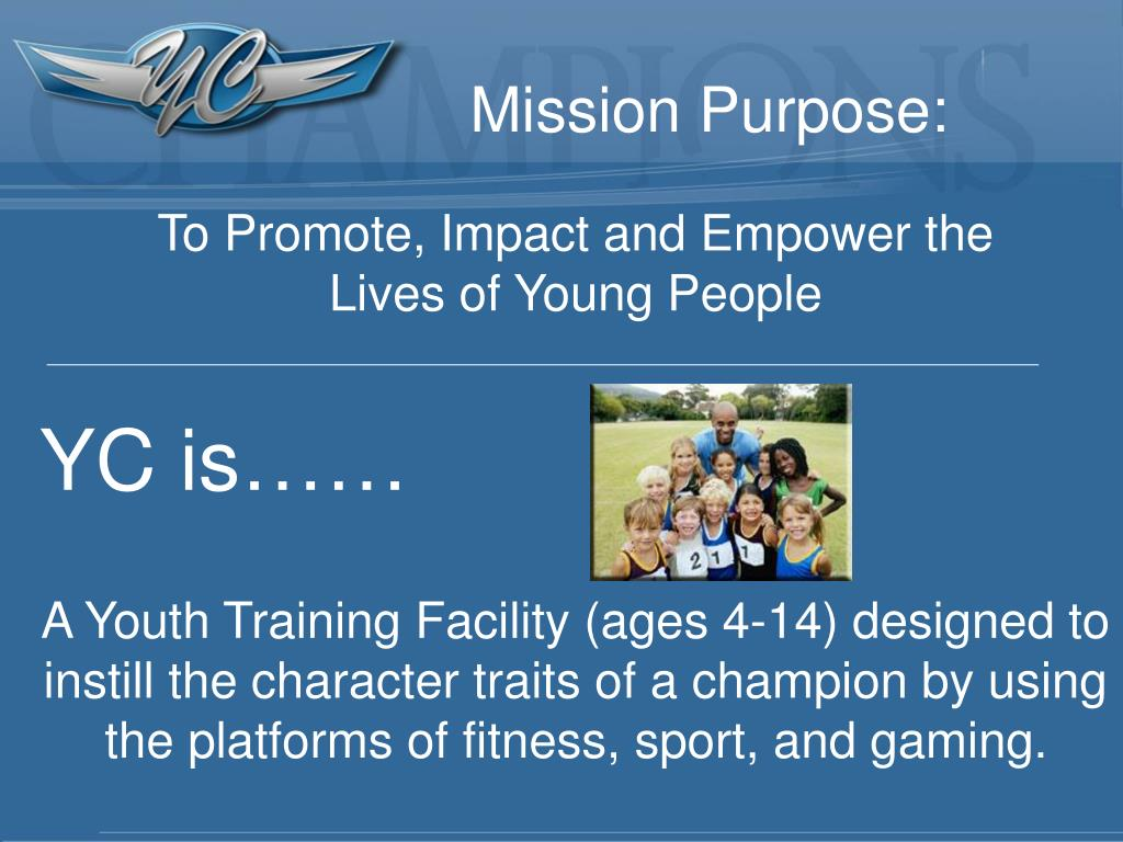 Mission Purpose: