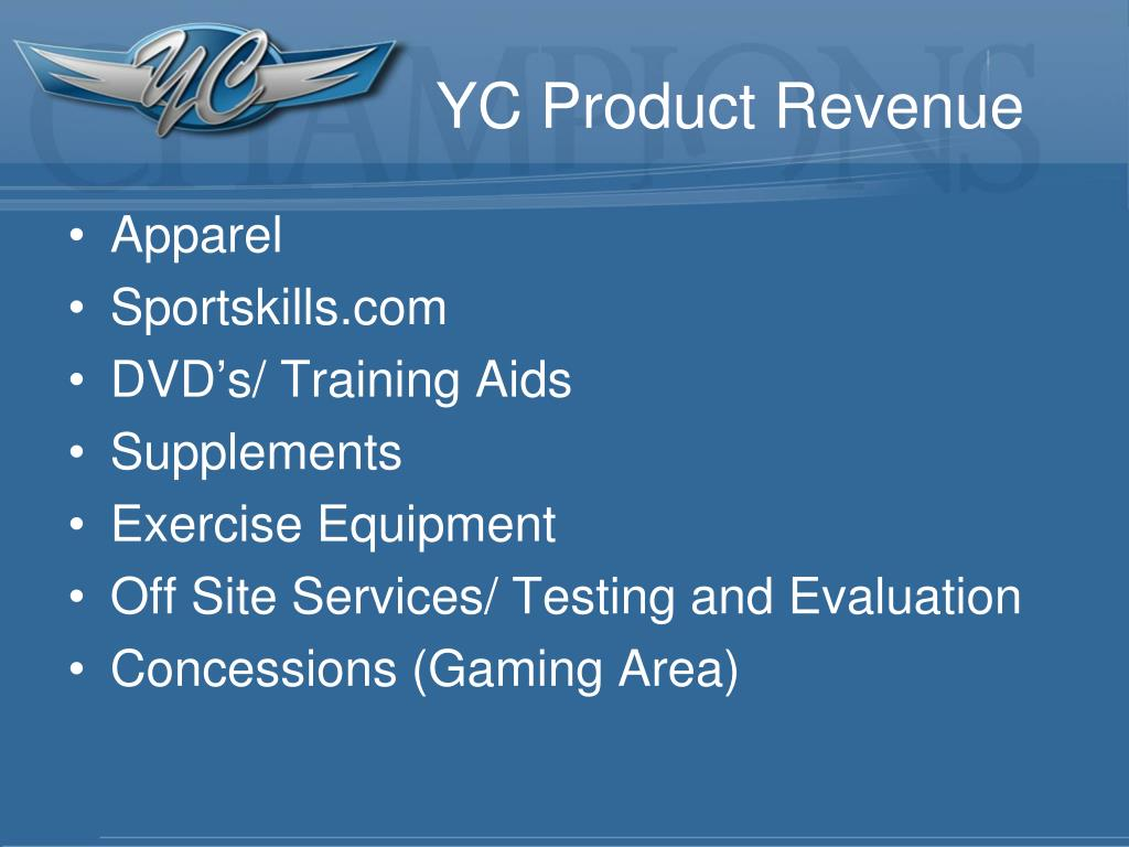 YC Product Revenue